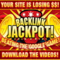 Backlink Jackpot. Beat The Google Game. Full Videos with Master Resell Rights